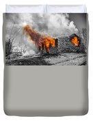 Furious Fire Duvet Cover