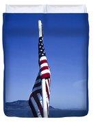 Furled Flag Duvet Cover