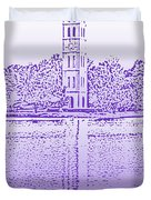 Furman Bell Tower Duvet Cover