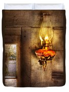Furniture - Lamp - Kerosene Lamp Duvet Cover