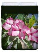 Fushia Oleander Near Phoenx Arizona 2 Duvet Cover