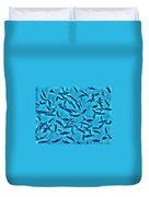 Fusilier Fish Duvet Cover