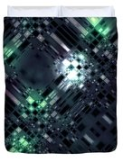 Future Metropolis Duvet Cover