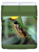 Fuzzy Caterpillar Duvet Cover