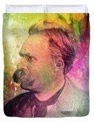 F.w. Nietzsche Duvet Cover