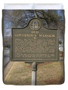 Ga-005-1b Old Governors Mansion Duvet Cover