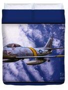 Gabby's F-86e Duvet Cover