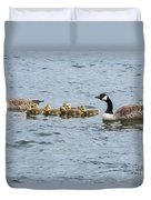 Gaggle Of Geese Duvet Cover