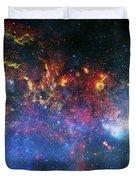 Galactic Storm Duvet Cover