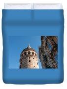 Galata Tower 03 Duvet Cover