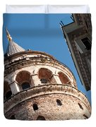 Galata Tower 04 Duvet Cover