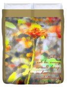 Galations 6 9 Duvet Cover
