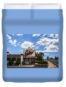 Galaxy Diner Duvet Cover