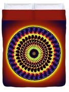 Galaxy Spotlight Kaleidoscope Duvet Cover