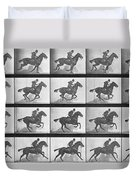 Galloping Horse Duvet Cover