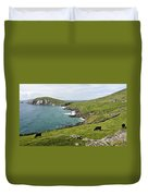 Atlantic Coast Of Ireland Duvet Cover