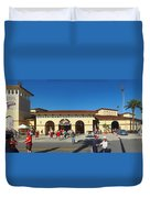 Game Day At Joker Marchant Duvet Cover