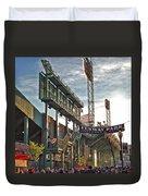 Game Day - Fenway Park Duvet Cover