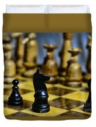 Game Of Chess Duvet Cover
