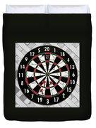 Game Of Darts Anyone? Duvet Cover by Kaye Menner