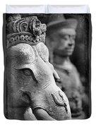 Ganesha In Time Duvet Cover