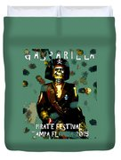 Gasparilla Pirate Fest 2015 Full Work Duvet Cover