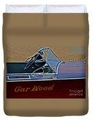 Gar Wood Boat Duvet Cover