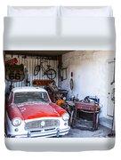 Garage Duvet Cover