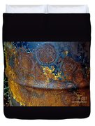 Garbage Can Abstract Duvet Cover