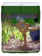 Garden Angel Duvet Cover