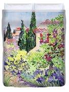 Garden At Vaison Duvet Cover