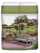 Garden Benches 6 Duvet Cover