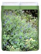 Garden Blues Duvet Cover