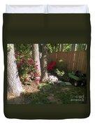 Garden Cleanup Duvet Cover