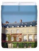 Garden Facade Photo Duvet Cover