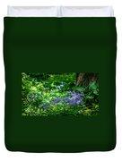 Garden Flox Duvet Cover