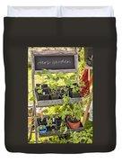 Garden Herb Nursery Duvet Cover