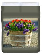 Garden In A Bucket Duvet Cover by Eti Reid