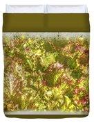 Garden Lettuce - Green Gold Duvet Cover