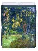 Garden Of Giverny Duvet Cover