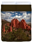 Garden Of The Gods Afternoon Duvet Cover