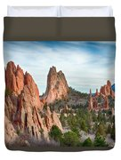 Garden Of The Gods Duvet Cover