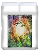 Garden Of Visions And Dreams Duvet Cover
