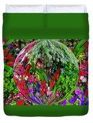 Garden Orb Duvet Cover