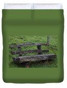 Garden Park Bench Duvet Cover