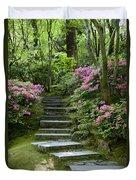 Garden Pathway Duvet Cover