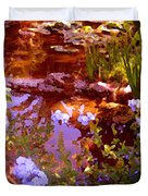 Garden Pond Duvet Cover