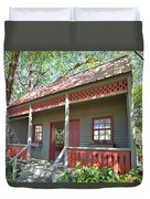 Garden Porch At Calloway Gardens Duvet Cover