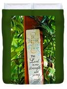Garden Prayer Duvet Cover