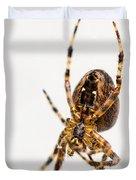 Garden Spider Profile Duvet Cover